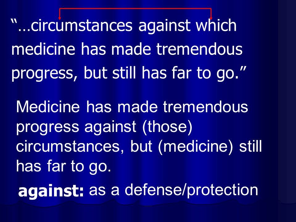 …circumstances against which