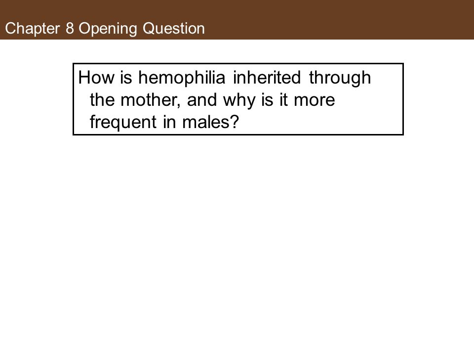 Chapter 8 Opening Question
