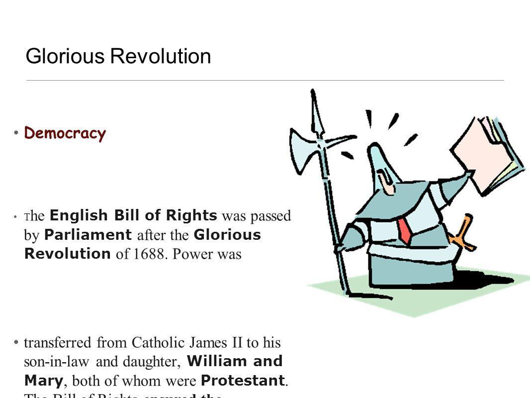 Glorious Revolution Democracy