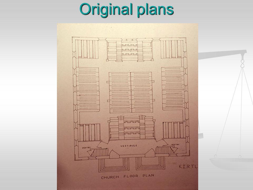 Original plans