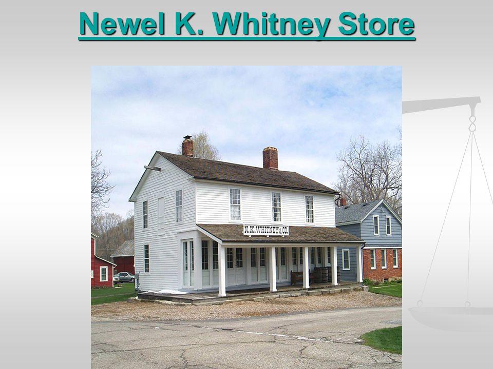 Newel K. Whitney Store