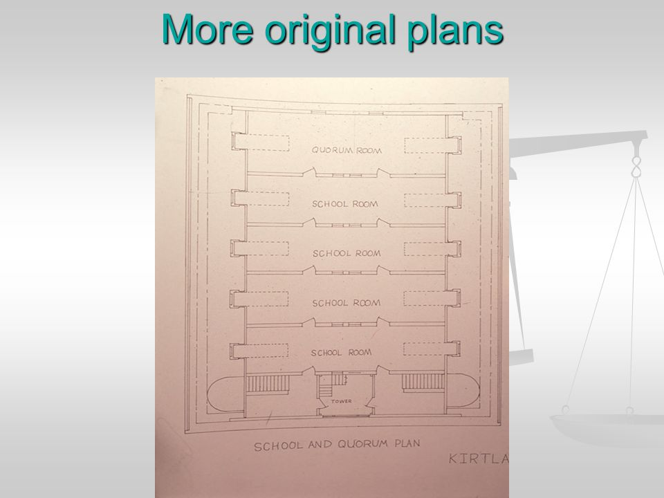More original plans
