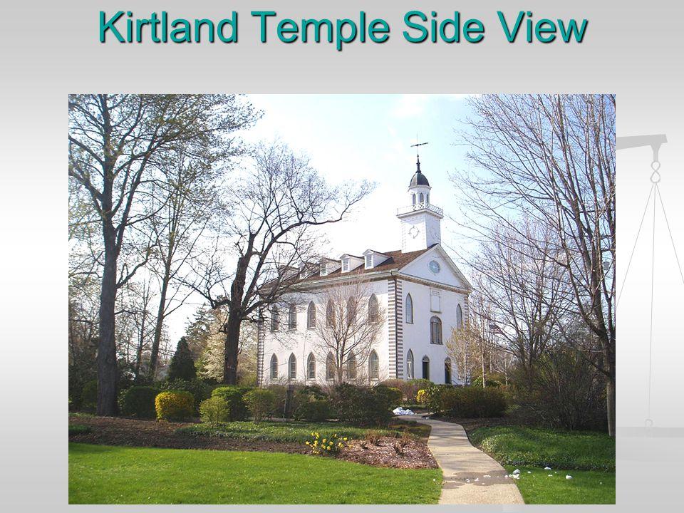 Kirtland Temple Side View