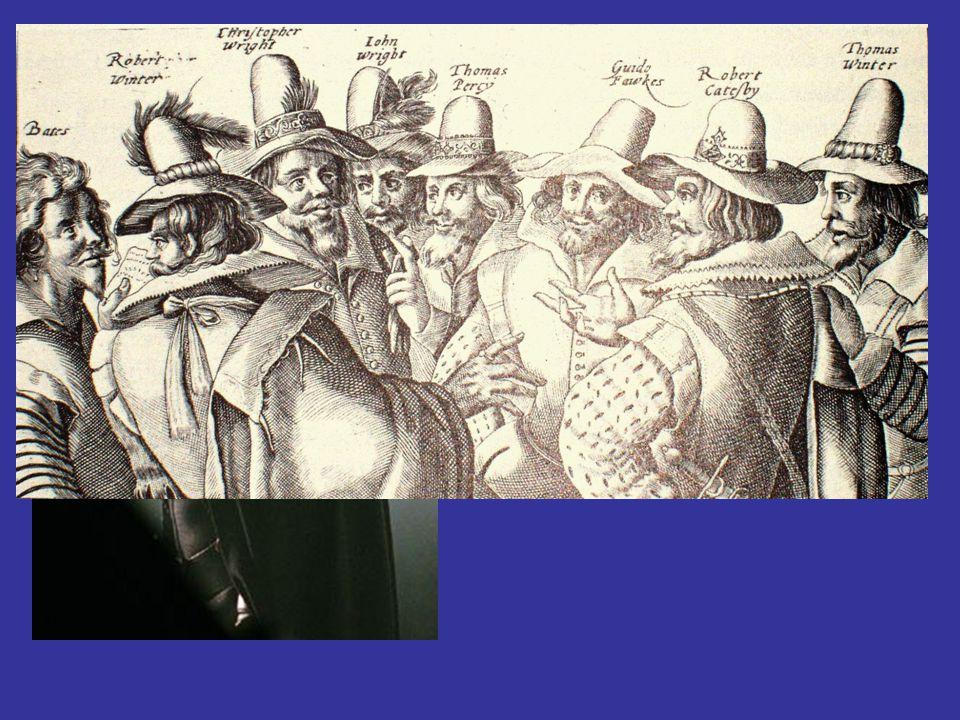 Guy Fawkes Gunpowder Plot 11/05/1605