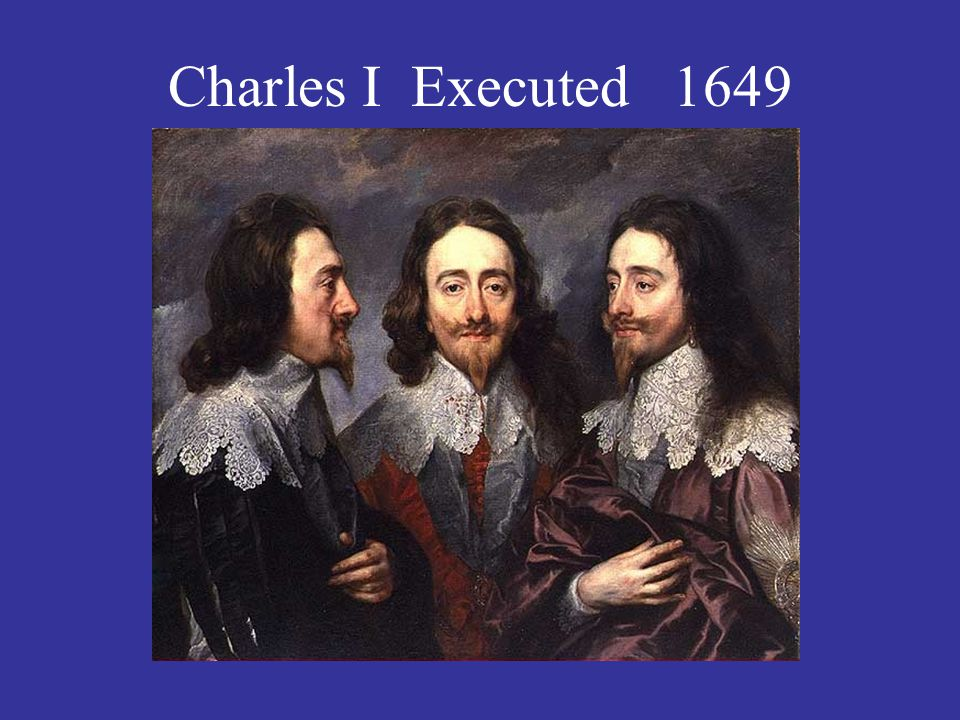 Charles I Executed 1649