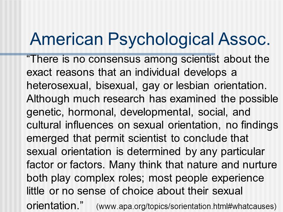 American Psychological Assoc.
