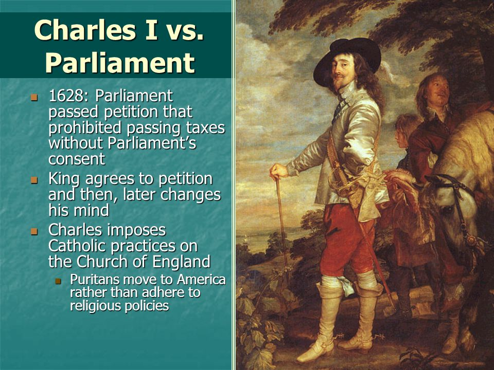 Charles I vs. Parliament