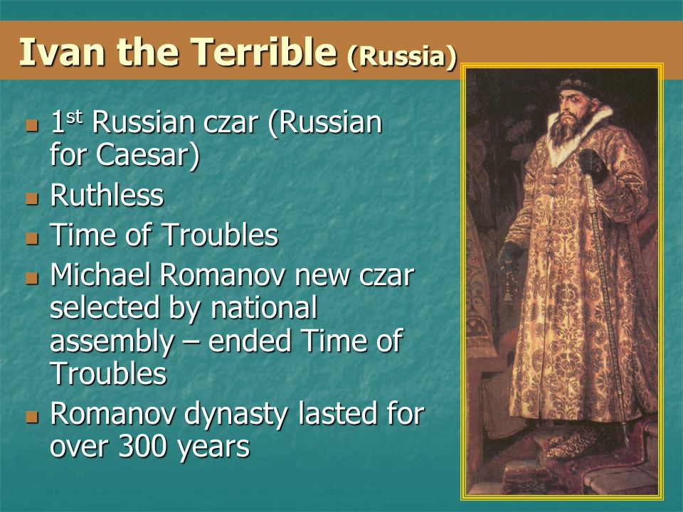 Ivan the Terrible (Russia)