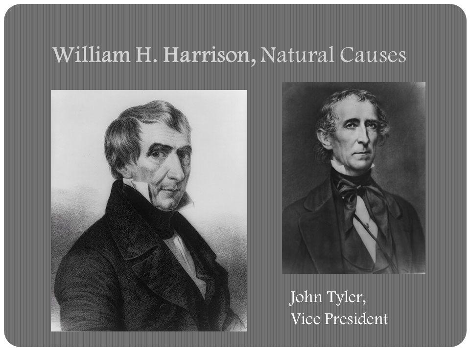 William H. Harrison, Natural Causes