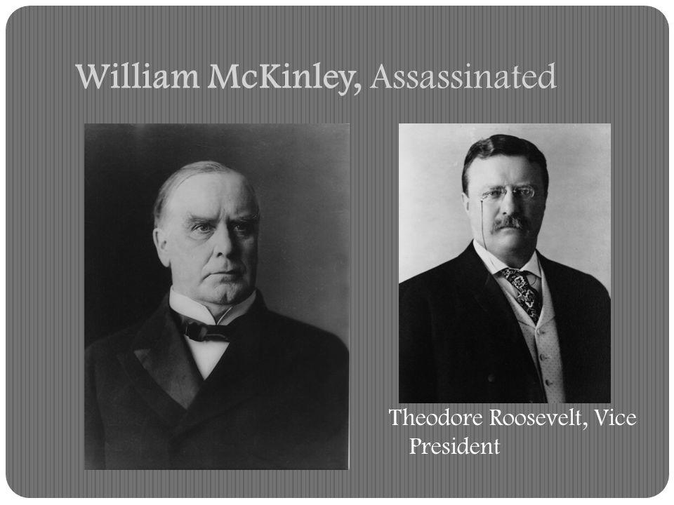 William McKinley, Assassinated