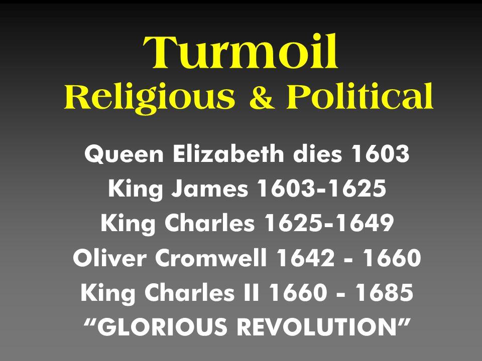 Turmoil Religious & Political