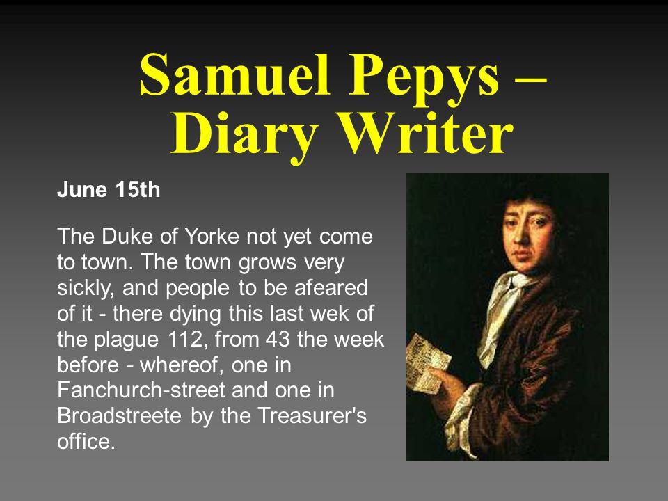 Samuel Pepys – Diary Writer