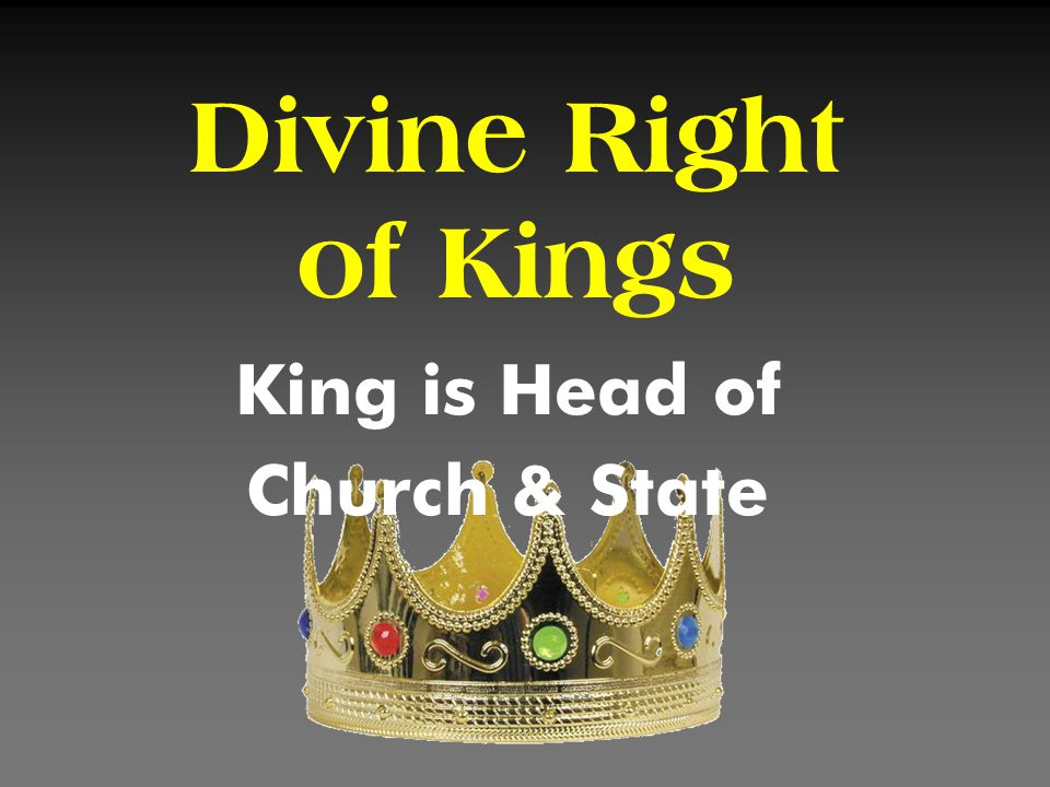 King is Head of Church & State