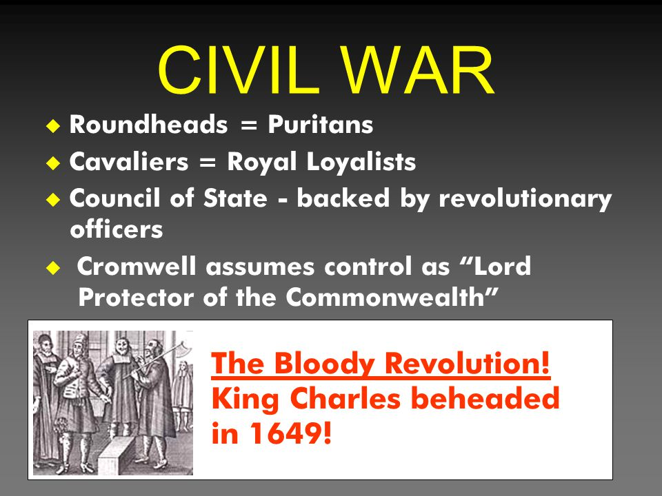 CIVIL WAR The Bloody Revolution! King Charles beheaded in 1649!
