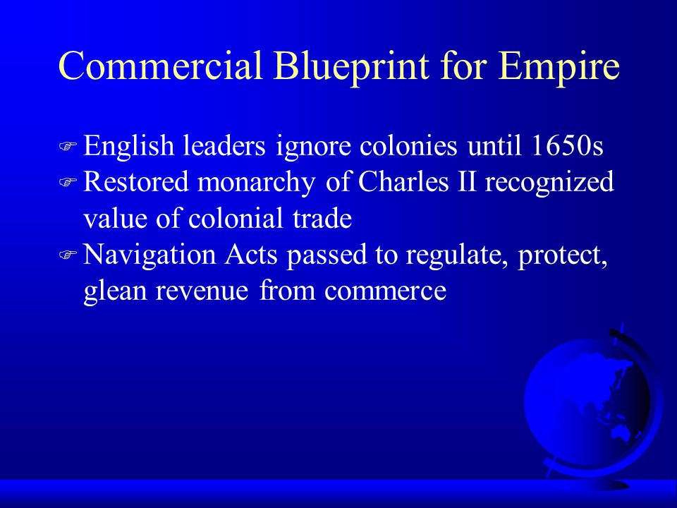 Commercial Blueprint for Empire