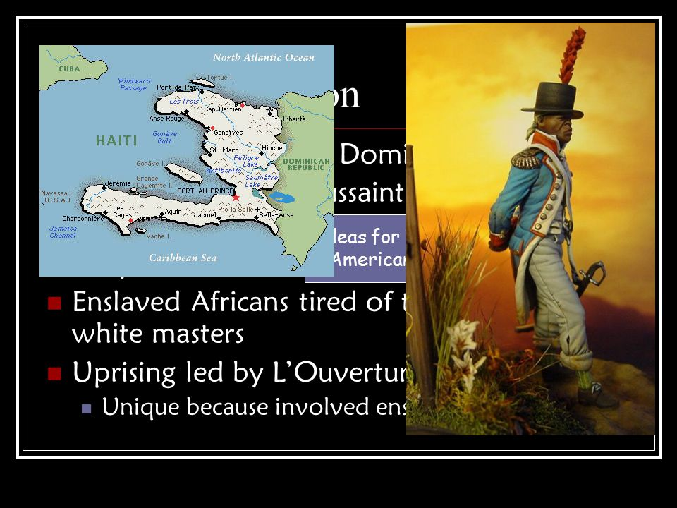 Haitian Revolution French colony (Saint Domingue)