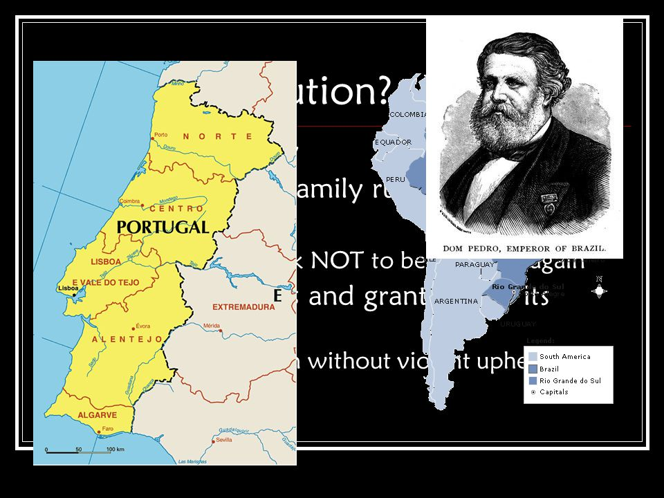 Brazil's Revolution Portuguese colony