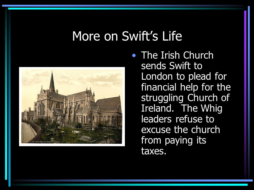 More on Swift's Life