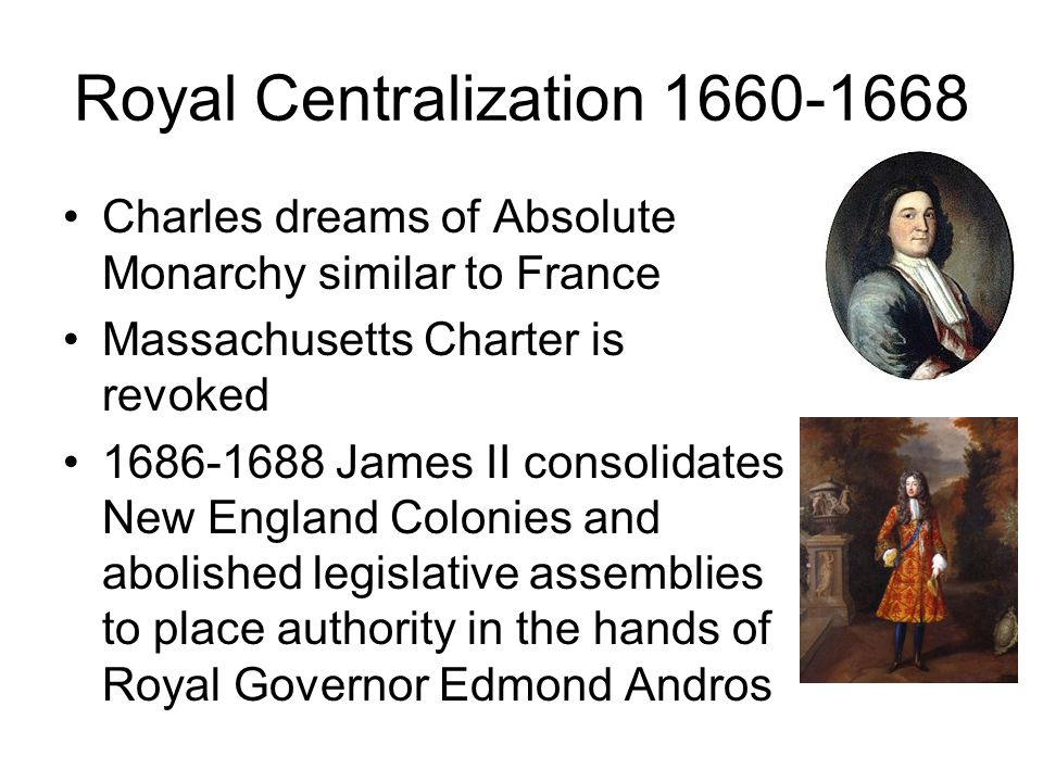 Royal Centralization 1660-1668