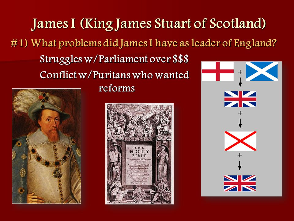 a biography of james stuart the king of england Prince charles edward stuart was born on 31 december 1720, to to the exiled  stuart king james vii and ii five years later charles' brother, henry benedict,.