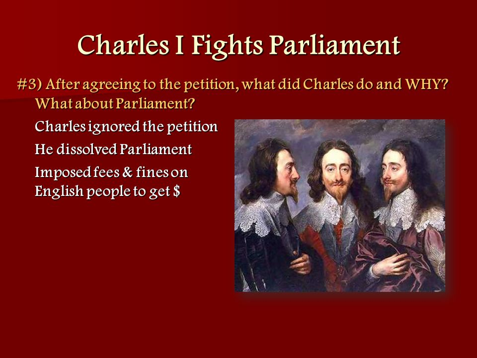 Charles I Fights Parliament