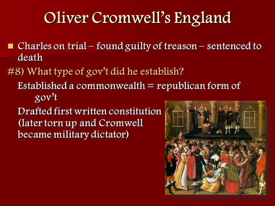 Oliver Cromwell's England