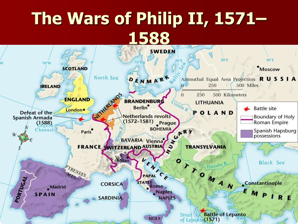 The Wars of Philip II, 1571–1588