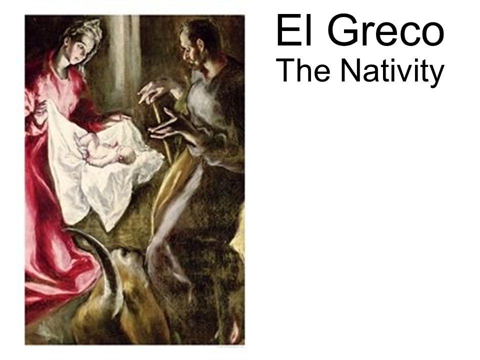 El Greco The Nativity