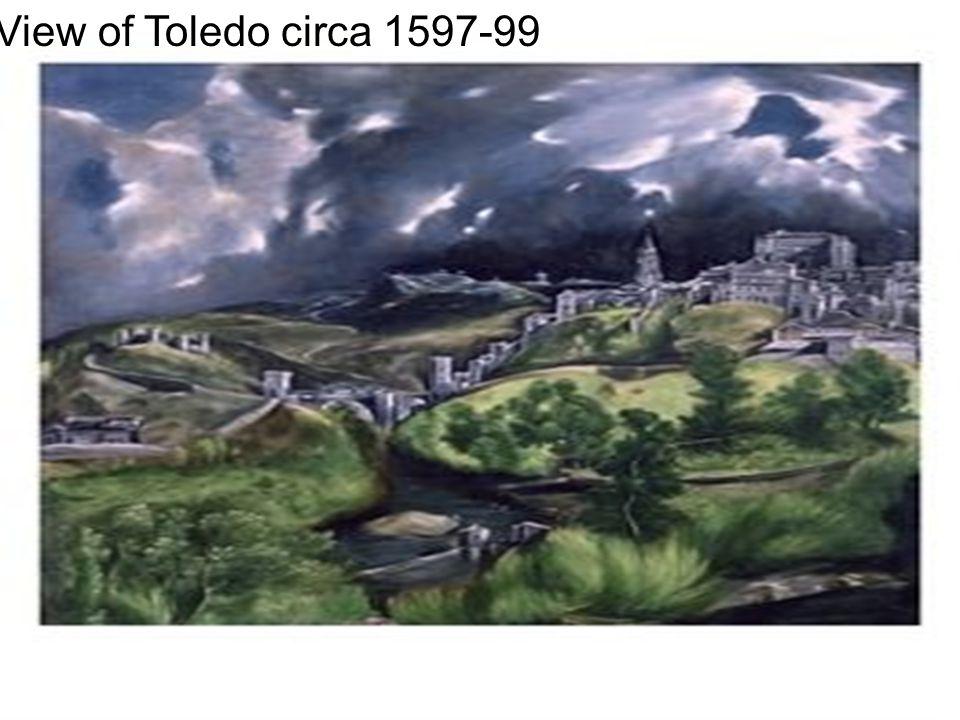 View of Toledo circa 1597-99