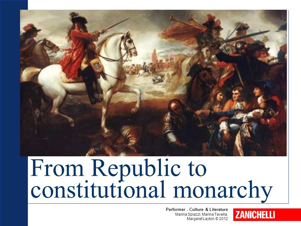 From Republic to constitutional monarchy