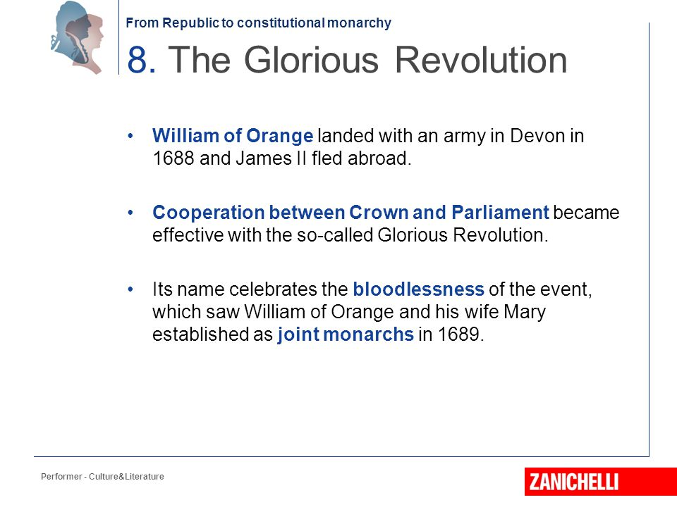 8. The Glorious Revolution