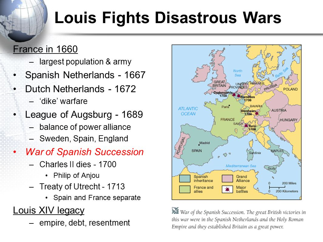 Louis Fights Disastrous Wars