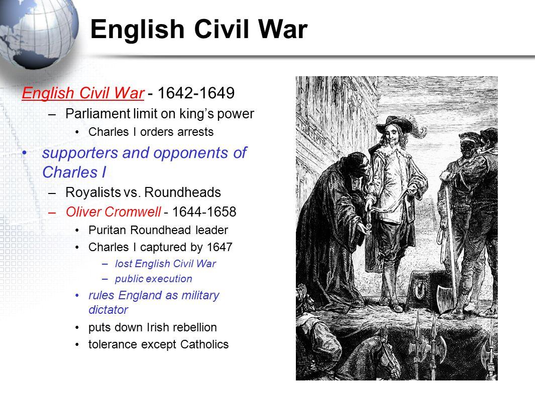English Civil War English Civil War - 1642-1649