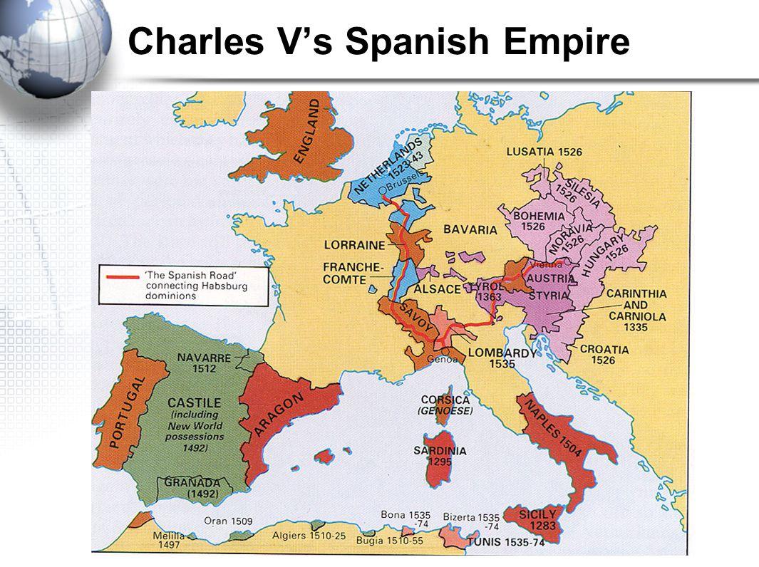 Charles V's Spanish Empire