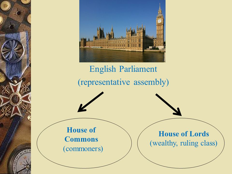 House of Lords (wealthy, ruling class)