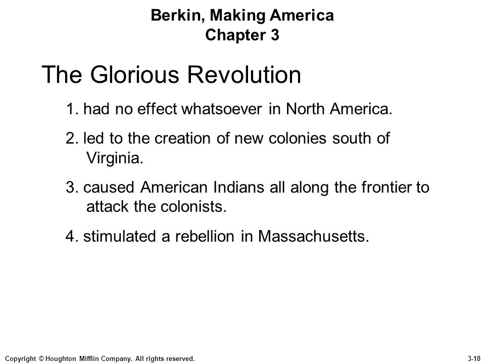 Berkin, Making America Chapter 3