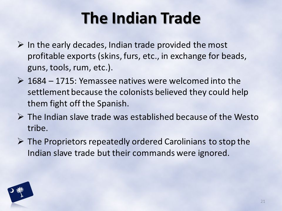 The Indian Trade