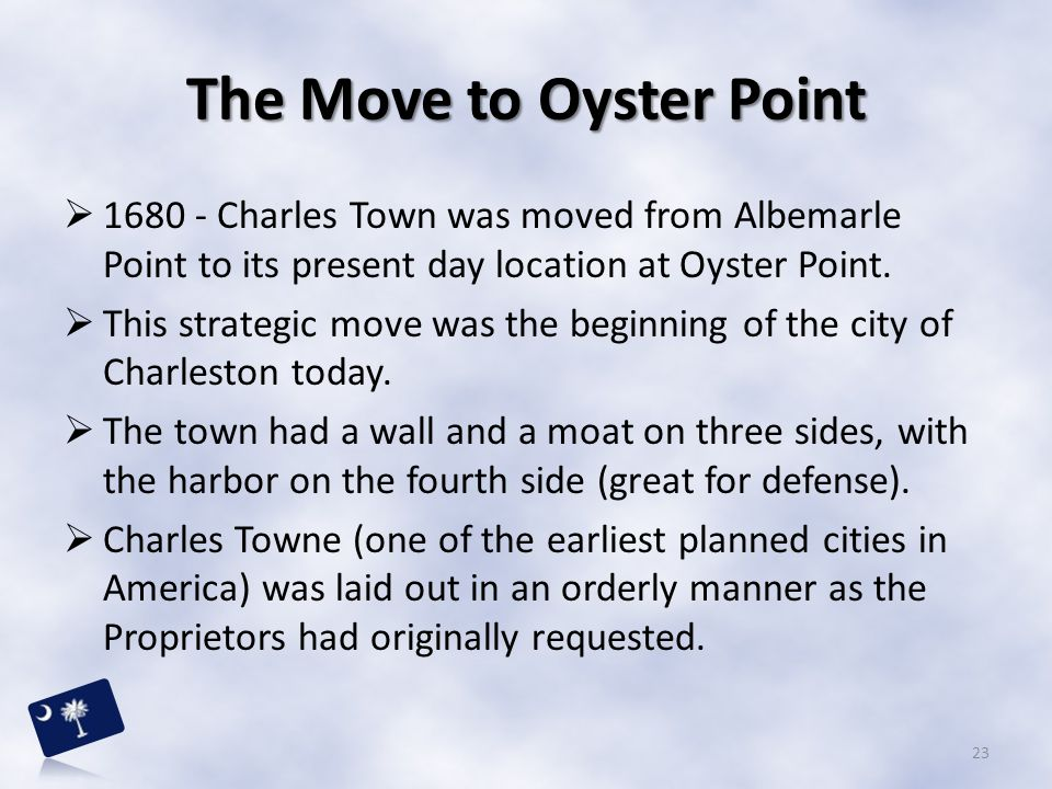 The Move to Oyster Point
