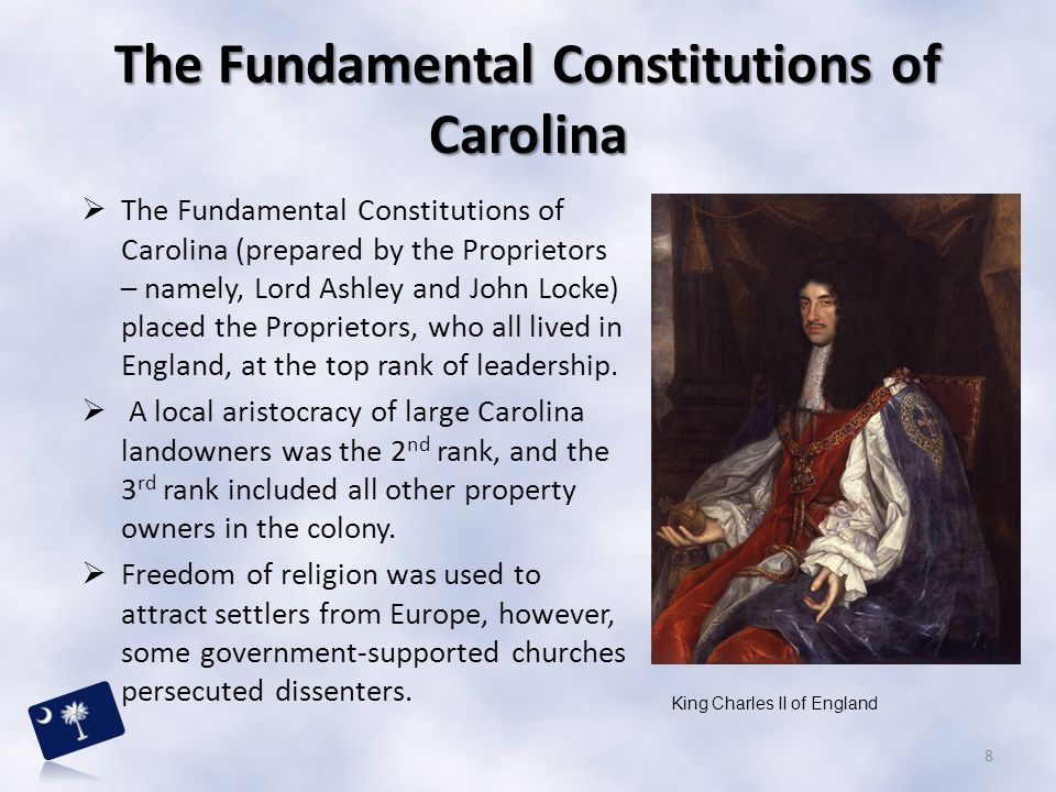 The Fundamental Constitutions of Carolina