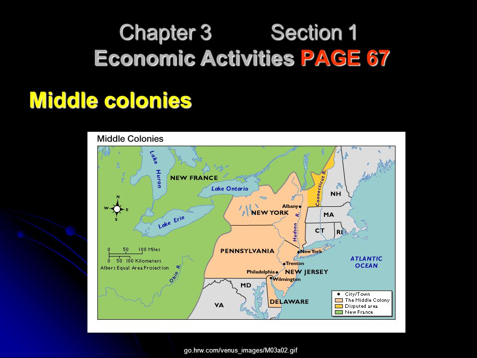 Chapter 3 Section 1 Economic Activities PAGE 67