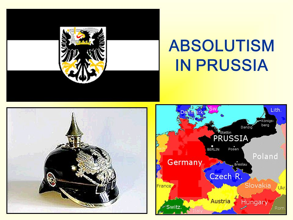 ABSOLUTISM IN PRUSSIA