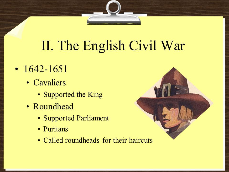 II. The English Civil War