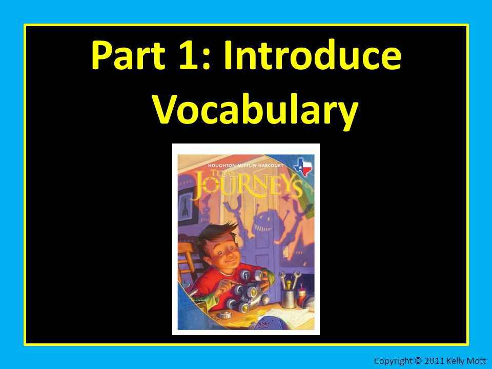 Part 1: Introduce Vocabulary