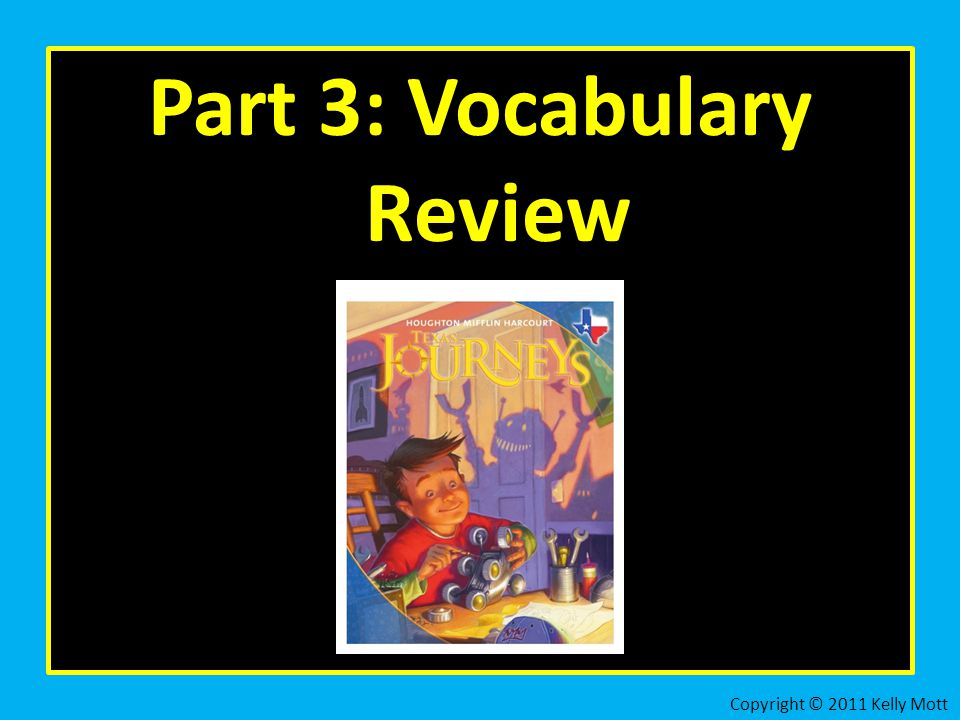 Part 3: Vocabulary Review