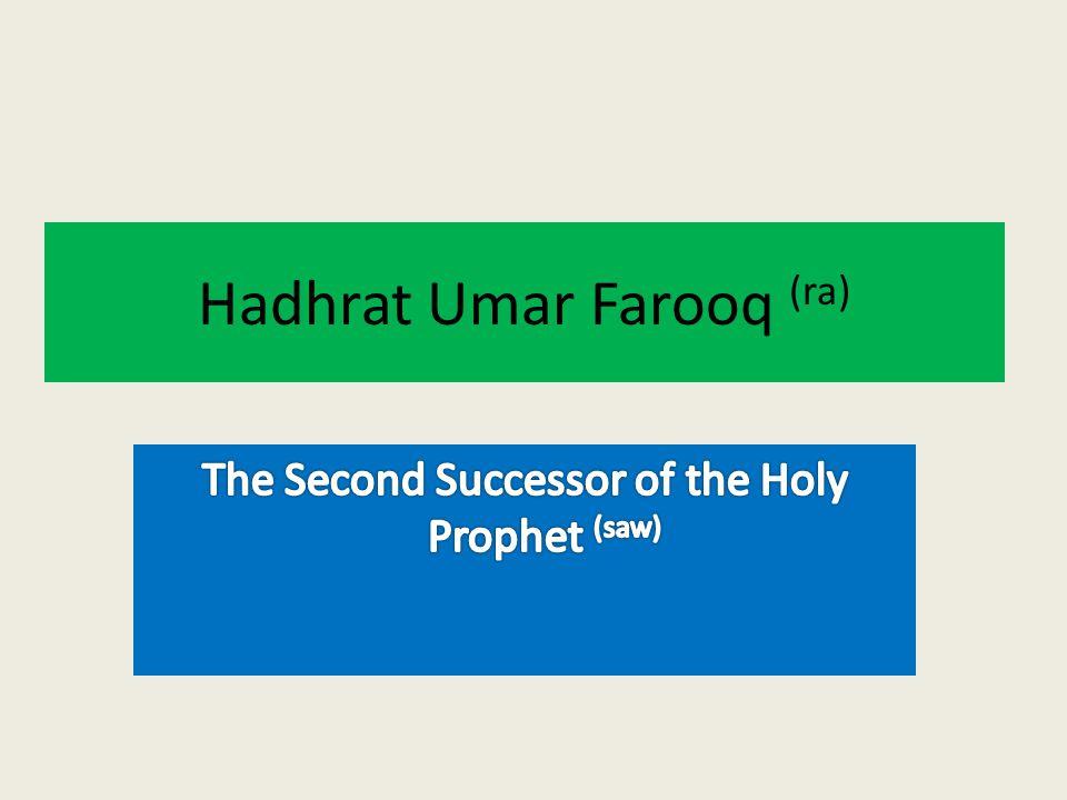 Hadhrat Umar Farooq (ra)