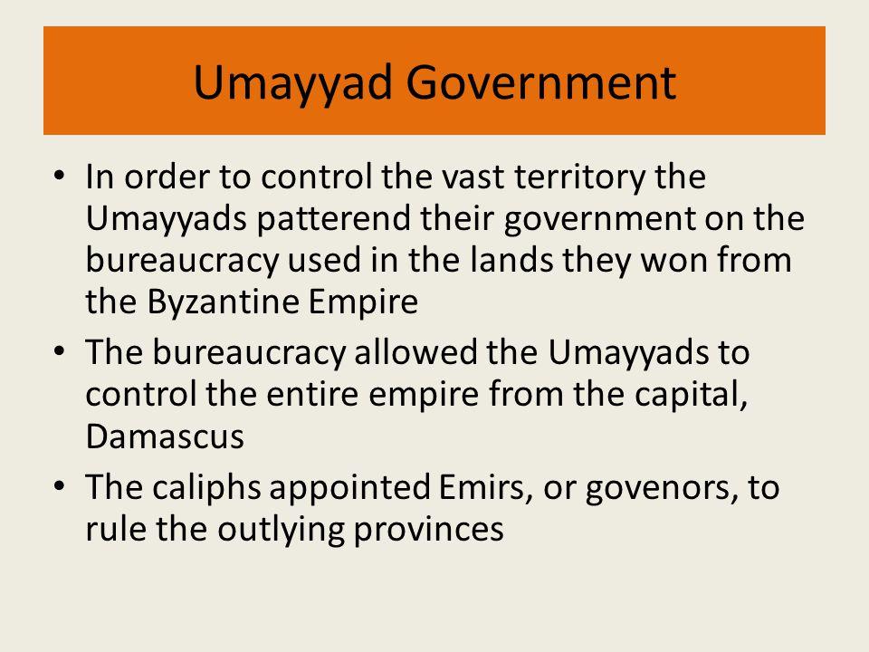 Umayyad Government