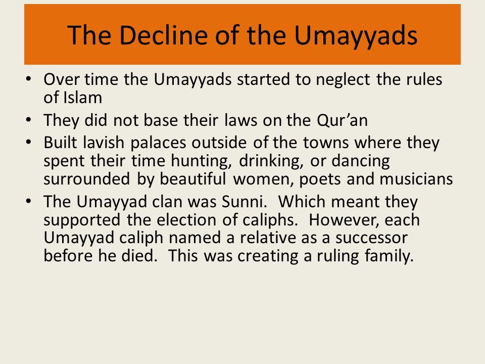 The Decline of the Umayyads