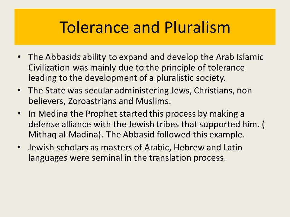 Tolerance and Pluralism