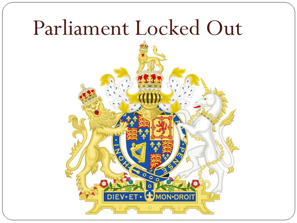 Parliament Locked Out