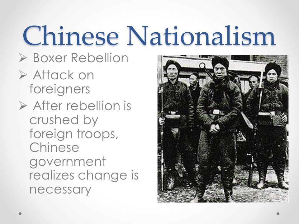 Chinese Nationalism Boxer Rebellion Attack on foreigners